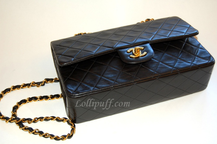 2cbdcd7cd401 Chanel 2.55 Double Flap: Caviar vs Lambskin | Lollipuff