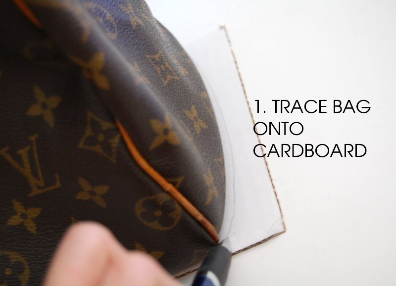 diy how to make bag handbag shaper form fix saggy misshapen purse