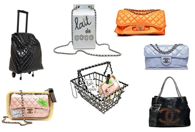 chanel fall winter 2014 grocery food milk meat shopping basket bags 7e907eeede813