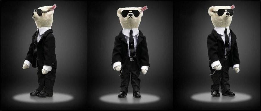 karl lagerfeld toy dolls