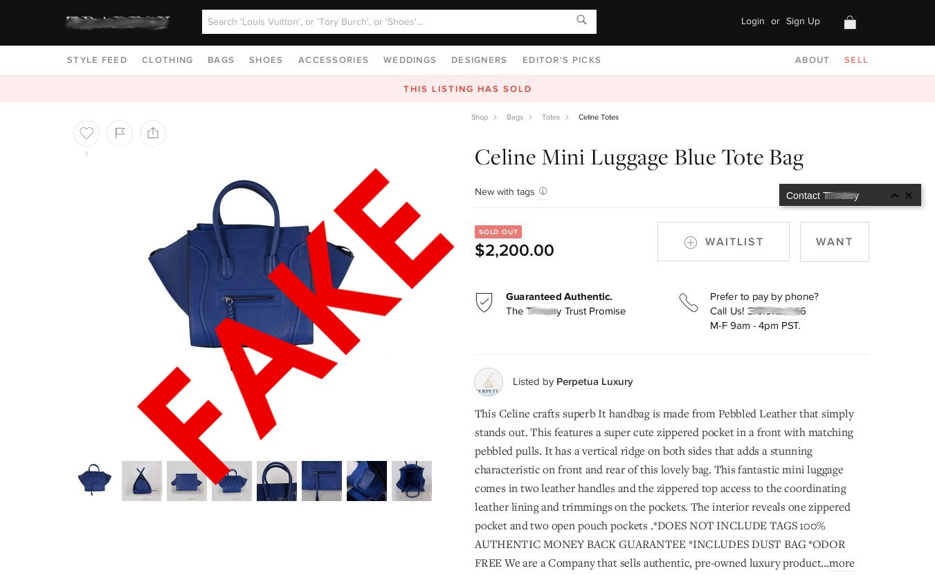 authenticate celine bag