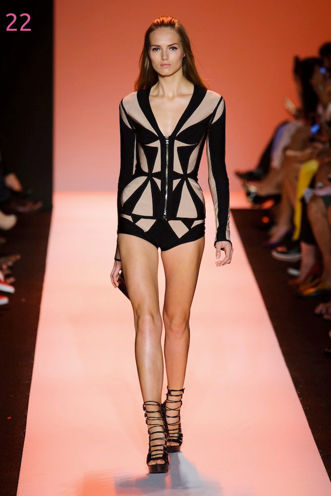 Herve Leger Spring Resort 2015 Season Collection Runway Dresses