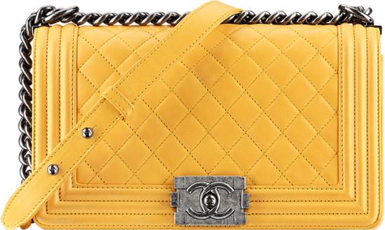 Chanel Bag Lambskin Lambskin Boy Flap Bag $4200