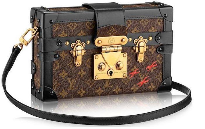 4aa395ec8a5 Louis Vuitton Petite Malle Trunk Chest Bag Fall Winter Autumn 2014 shoulder  crossbody clutch