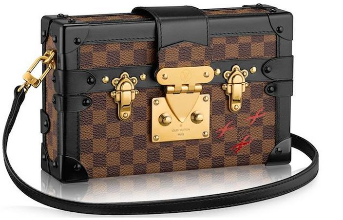 Louis Vuitton Petite Malle Trunk Chest Bag Fall Winter Autumn 2014 shoulder crossbody clutch