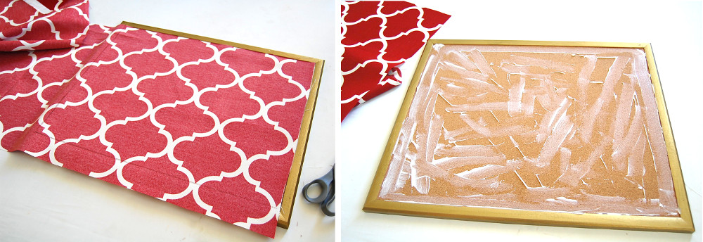 diy how to make your own stylish cork pin board pinboard