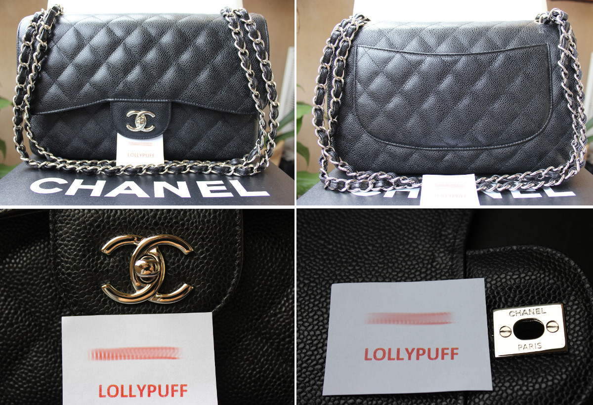4c026d121d2 Super Fake Caviar Chanel Jumbo Bag