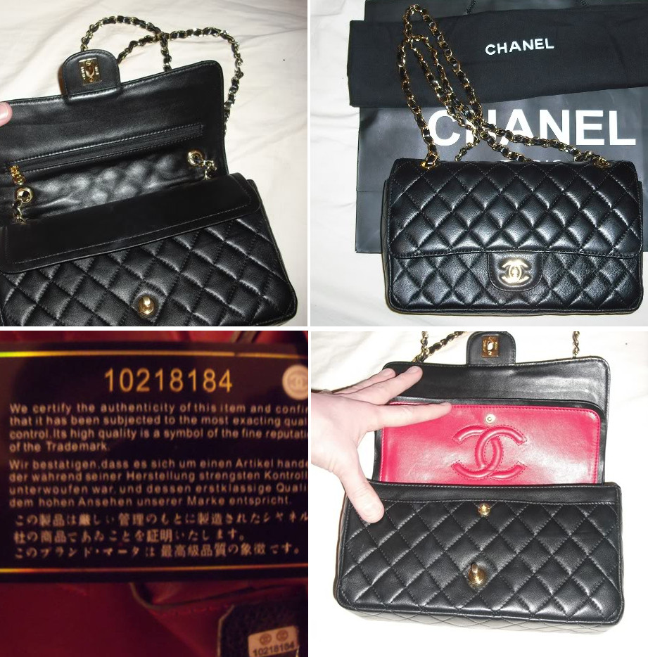 759f15389a157 Average Counterfeit Chanel Medium Double Flap Bag. average fake Chanel bag  A Quality