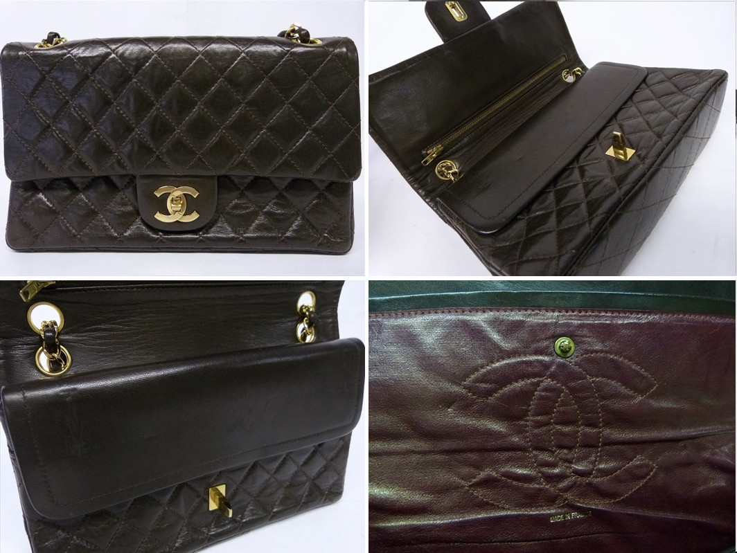 a81e0760f660 very old vintage Chanel bag without serial sticker