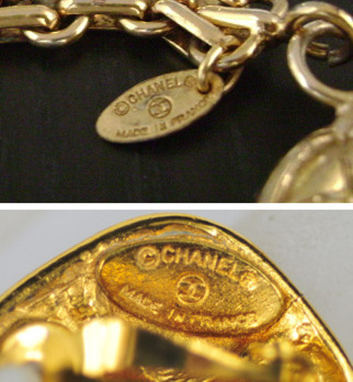 Chanel jewelry mark without date time