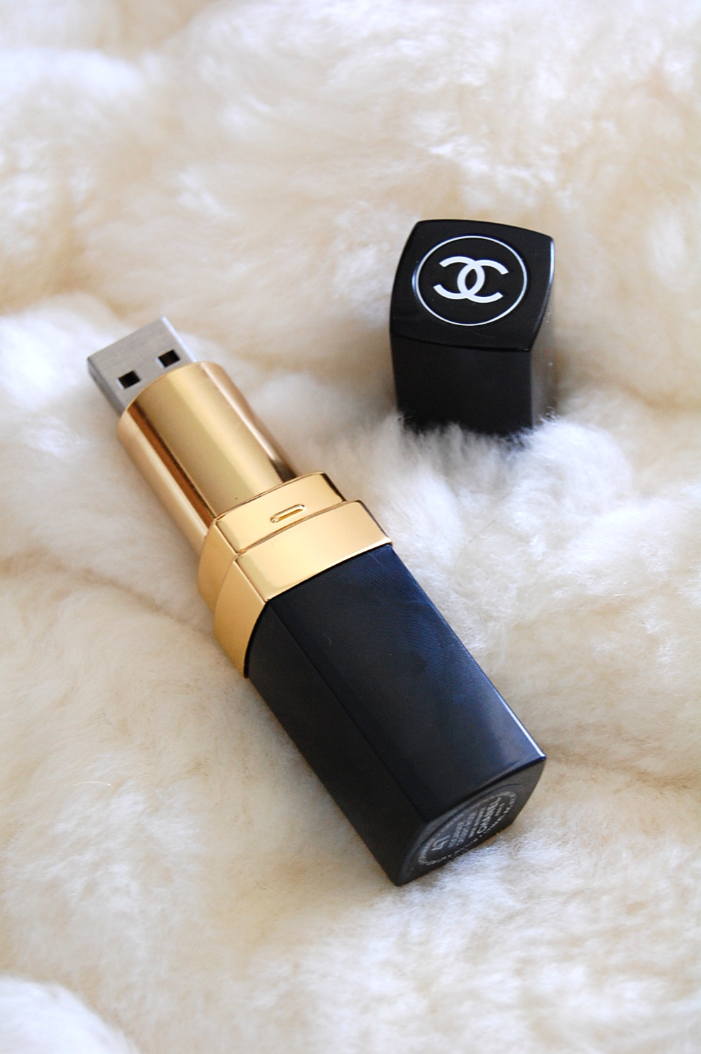 Chanel lipstick USB flash drive memory stick