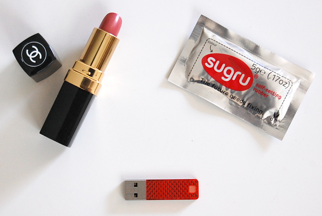 DIY Chanel lipstick USB Flash Drive tutorial