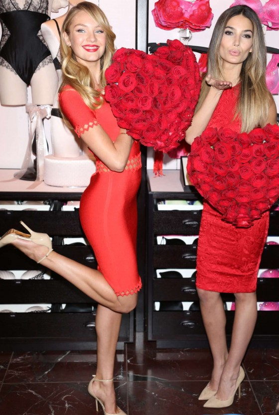 What To Wear For Valentines Victoria Secret Style