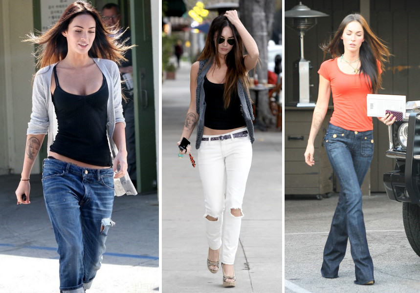tight shirt baggy jeans outfits