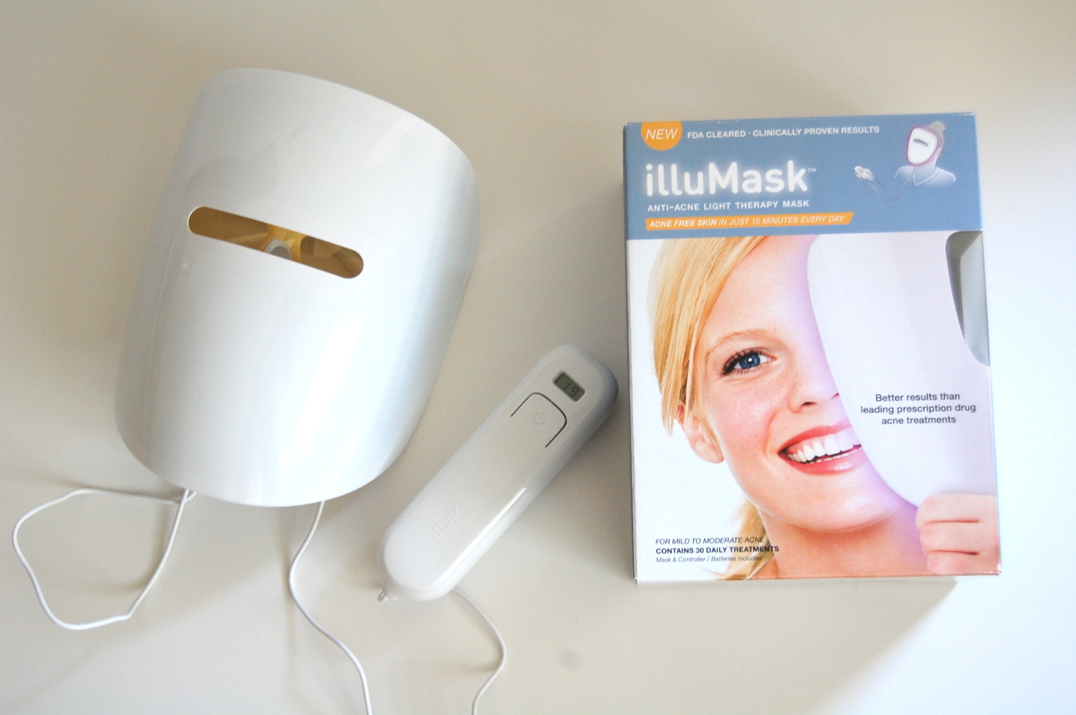 led light therapy mask anti-acne even skintone