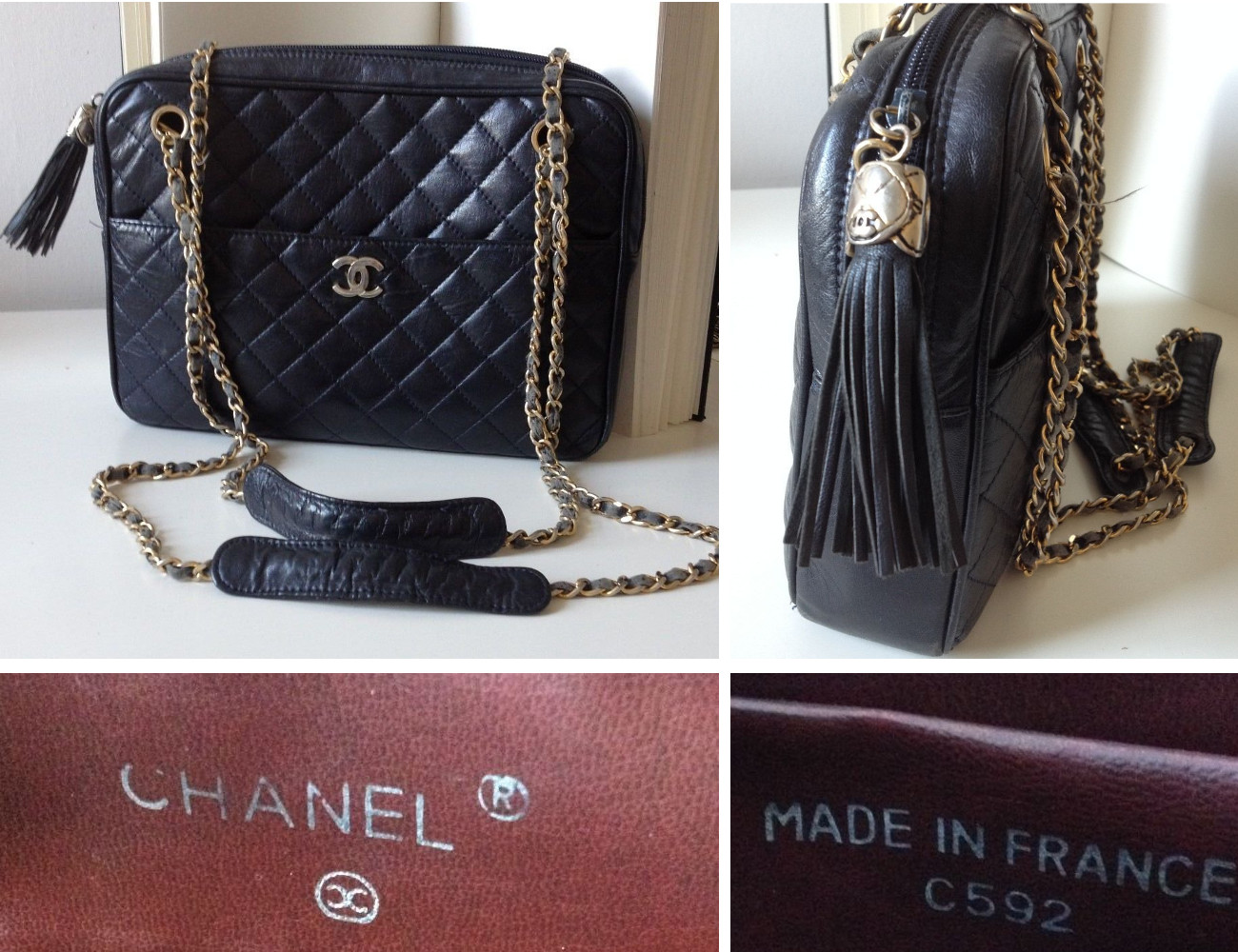 a7b6550ce Fake Vintage Chanel Bags | Lollipuff