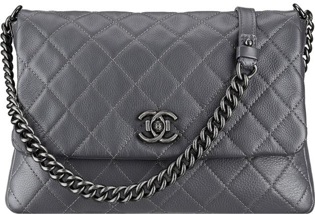 80ef186c554f Chanel 2015 Spring Summer Handbag Bag Collection. Calfskin Messenger Bag