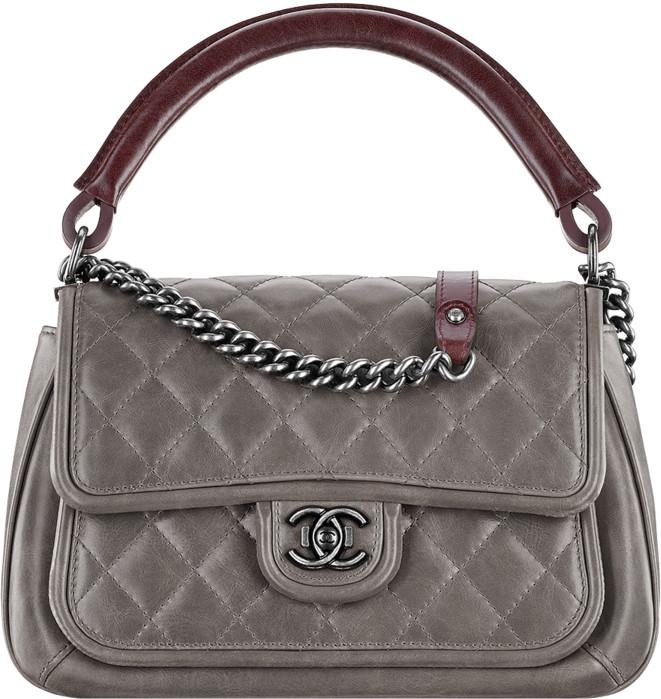 9d41f4efc103 Chanel 2015 Spring Summer Handbag Bag Collection. Large Calfskin Flap Bag