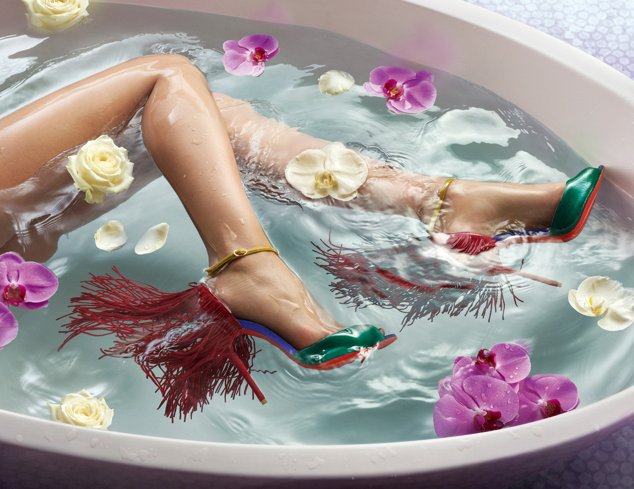 Christian Louboutin Shoes Spring 2015 Campaign forecast