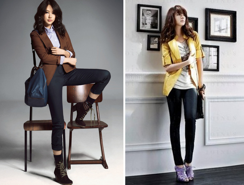 young trendy office outfits korean style fashion