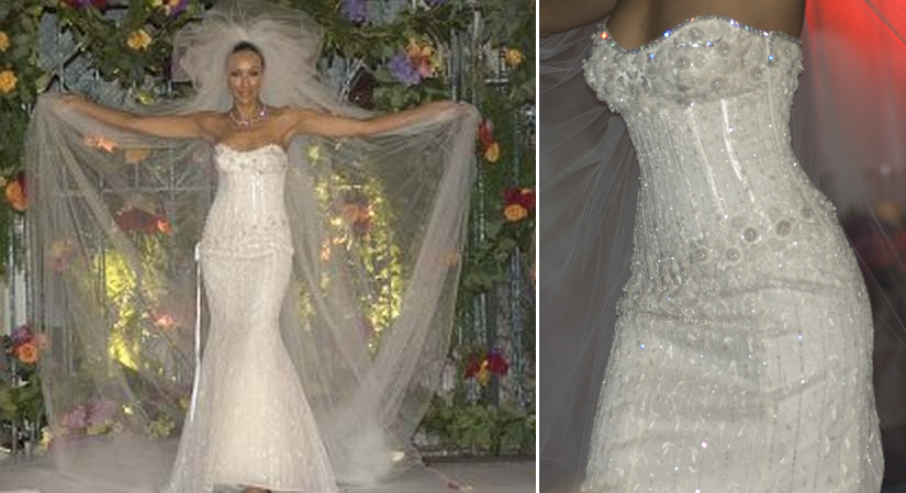 The world 39 s 5 most expensive fashion items lollipuff for Worlds most expensive wedding dress