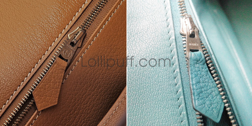 94f0266cedcb Zipper. hermes zippers authentication authentic fake guide vintage modern