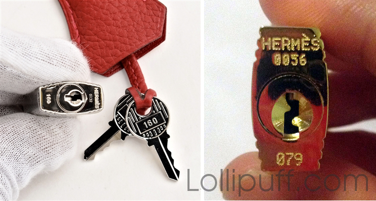 b1dff90d5f6a hermes authentic and replica lock key differences