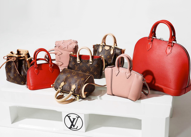 Louis Vuitton Nano miniature bags
