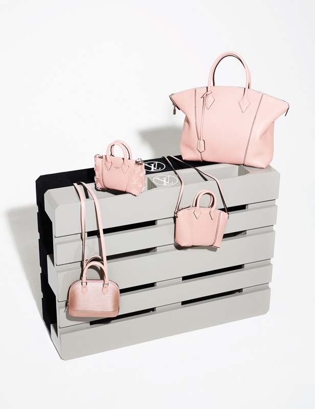 Pastel color Louis Vuitton shoulder bags