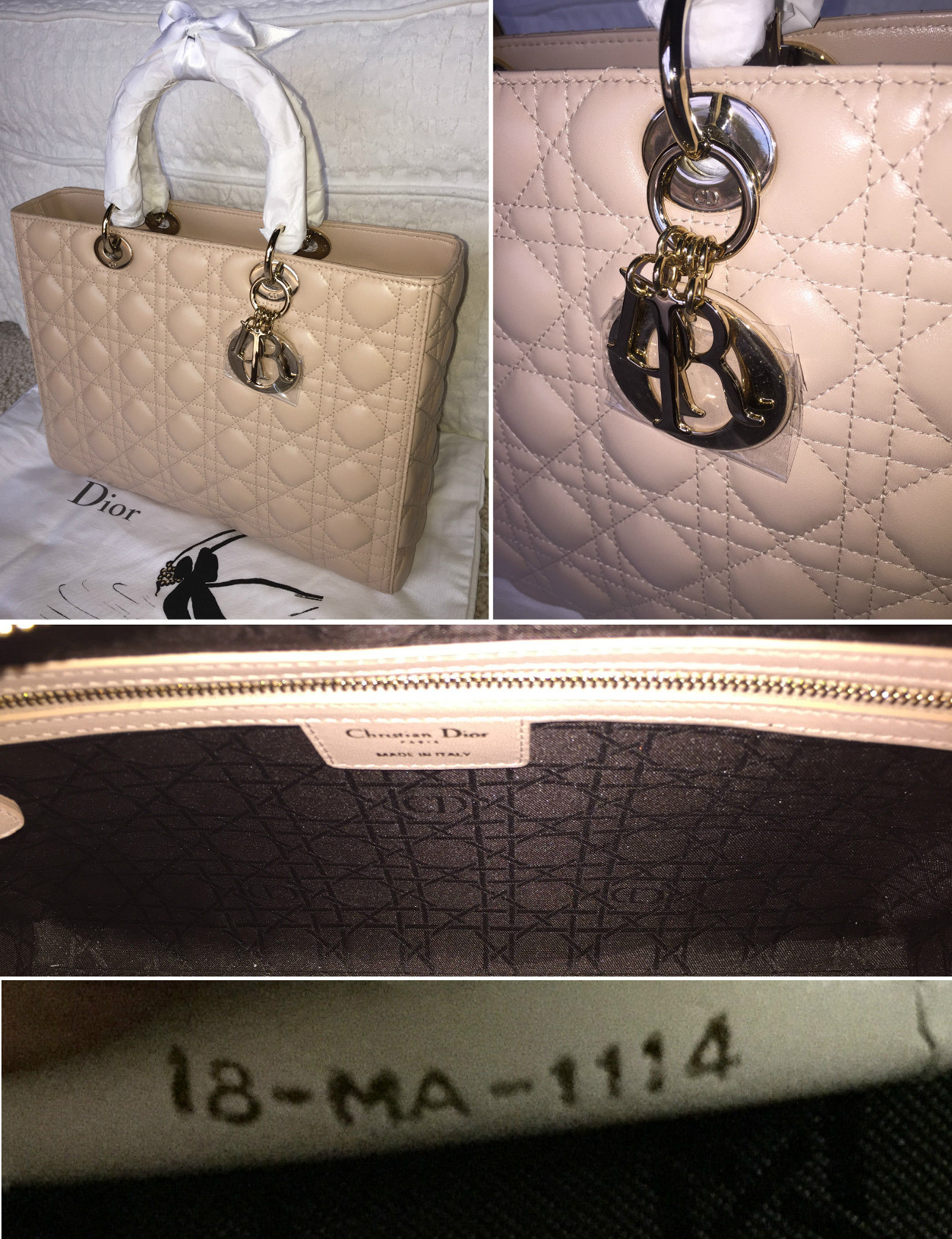 Christian Dior Bag Authentication Quiz  addde054b3b25