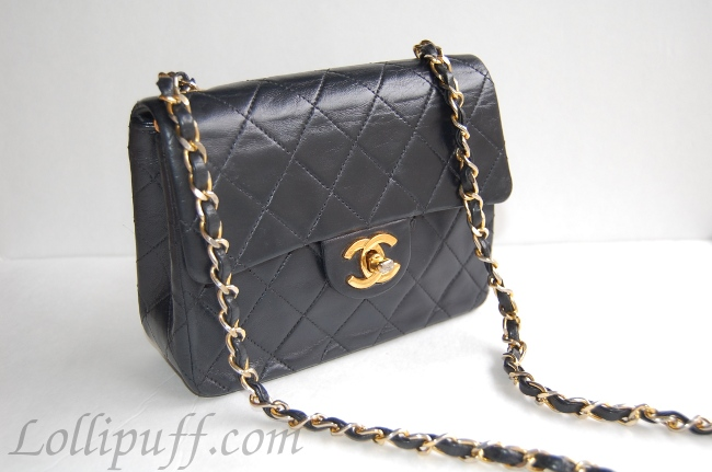 chanel mini bag lambskin 2.55 gold hardware quilted
