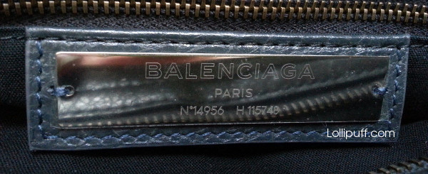 New Balenciaga City bag main label