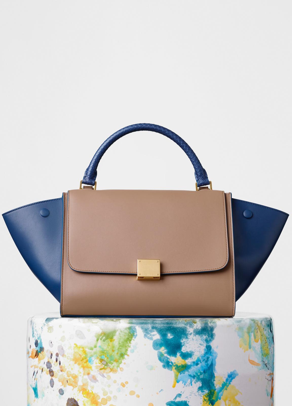 61ea10e0ad43 celine fall winter 2015 bags handbags purses season collection. 6. Small  Trapeze ...
