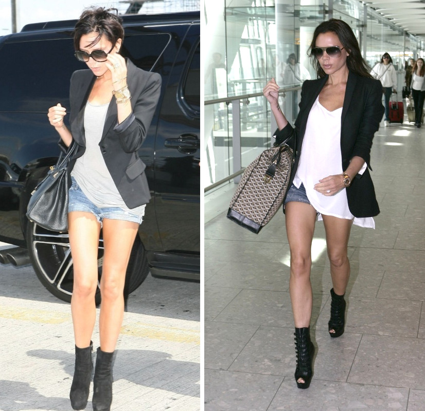 Cut Up Denim Shorts - Hardon Clothes