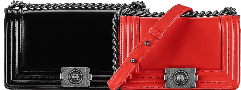483372b07a2 chanel fall winter 2015 pre-collection season bags handbags purses. 14.  Calfskin Boy Flap ...