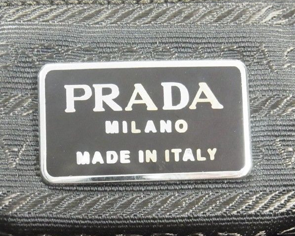 prada saffiano chain crossbody wallet - Prada Bag Authentication Using Logos | Lollipuff