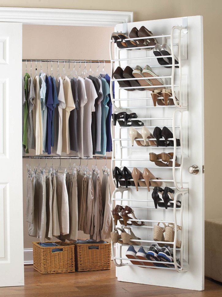Shoe Rack That Hangs From Door