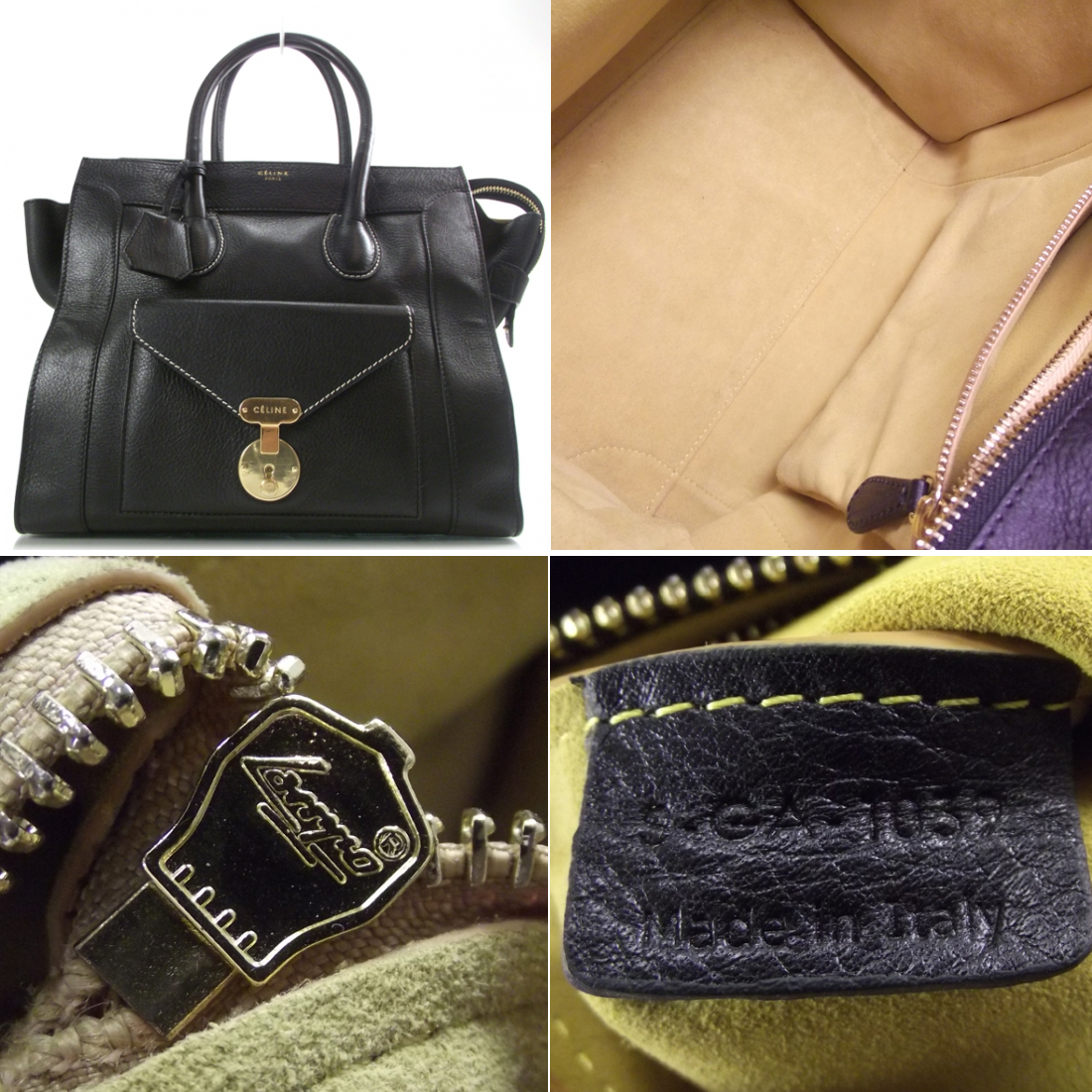 celine shoulder luggage tote price - Authentication Quiz: Chanel Earrings, Louis Vuitton Speedy, Hermes ...
