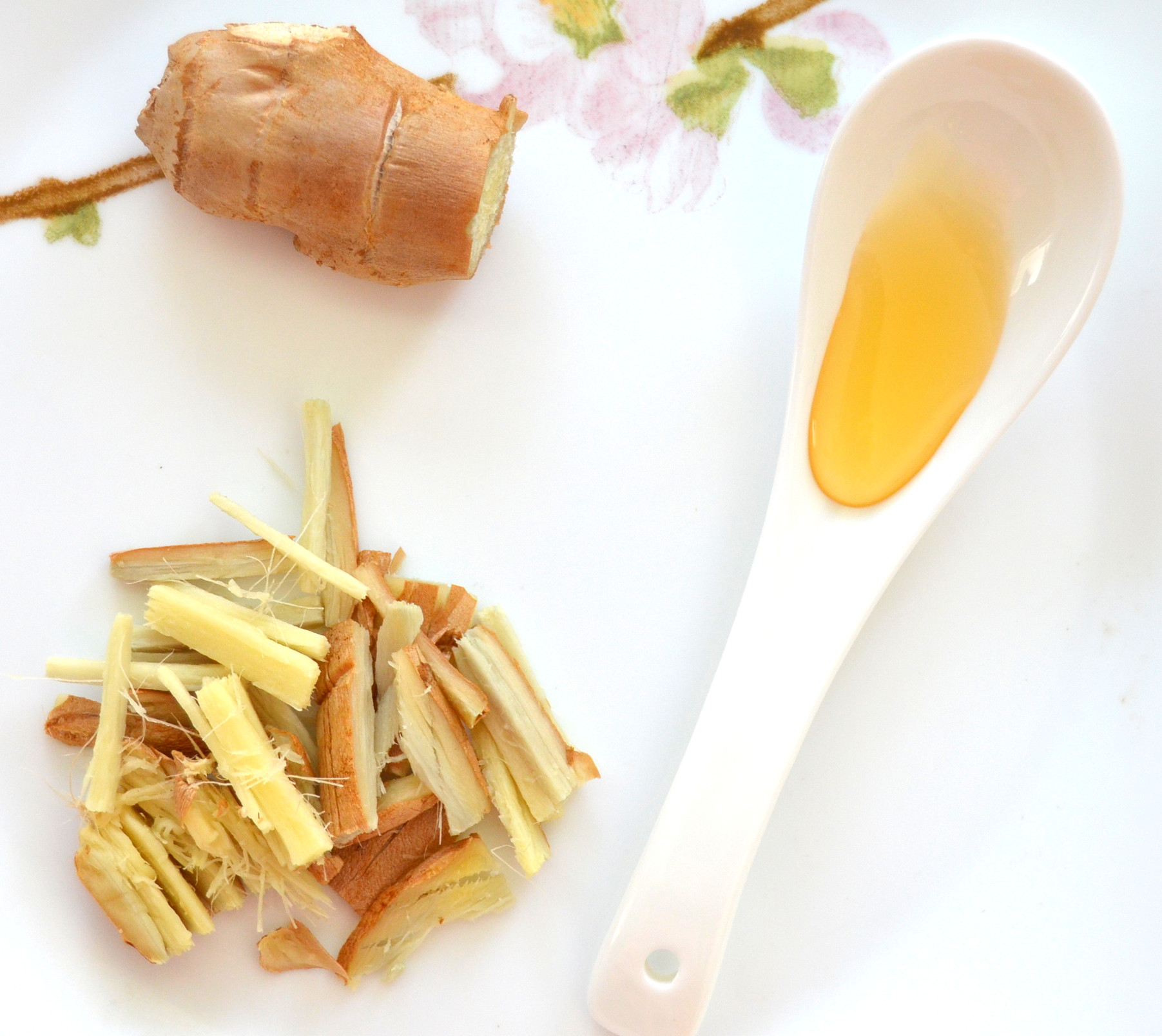 recipe ginger tea ingredients