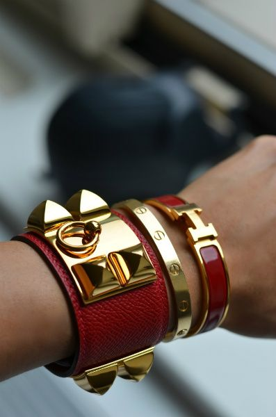 Collier de Chien sizing with Cartier love bracelet 17 ...
