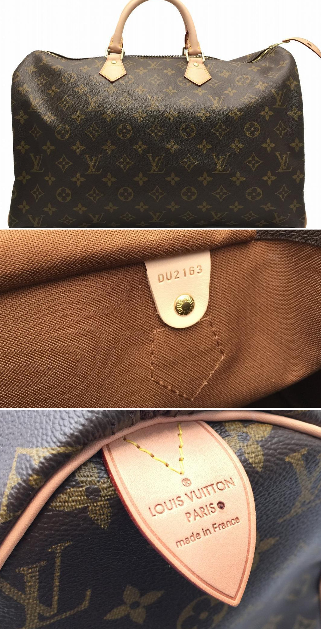 Louis Vuitton monogram speedy handbag