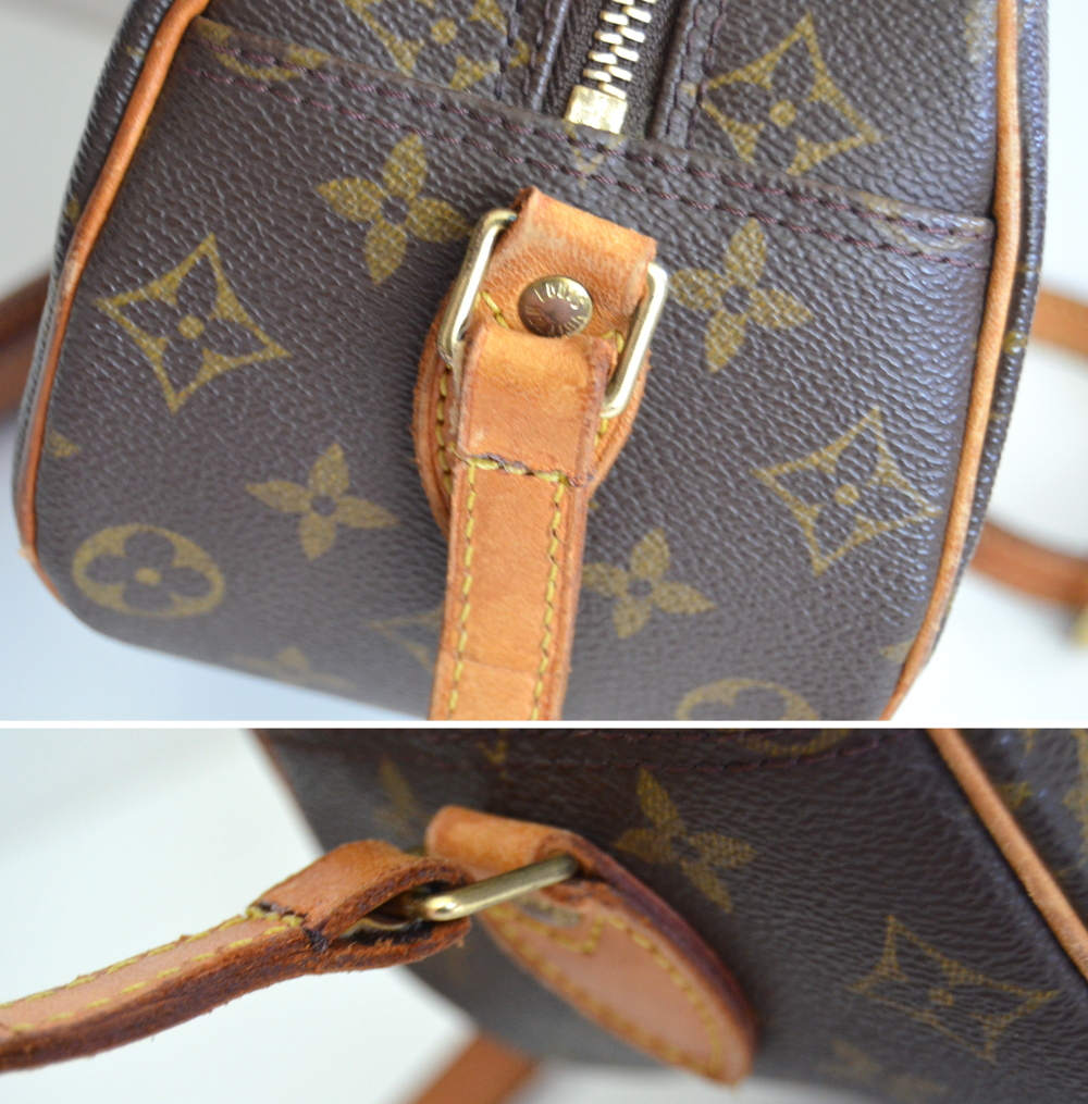 07f0e597c5 repaired torn ripped handbag bag purse shoulder strap