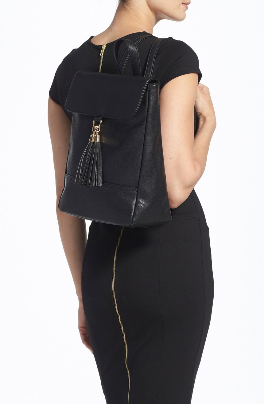 Sole Society backpack with tassel detial