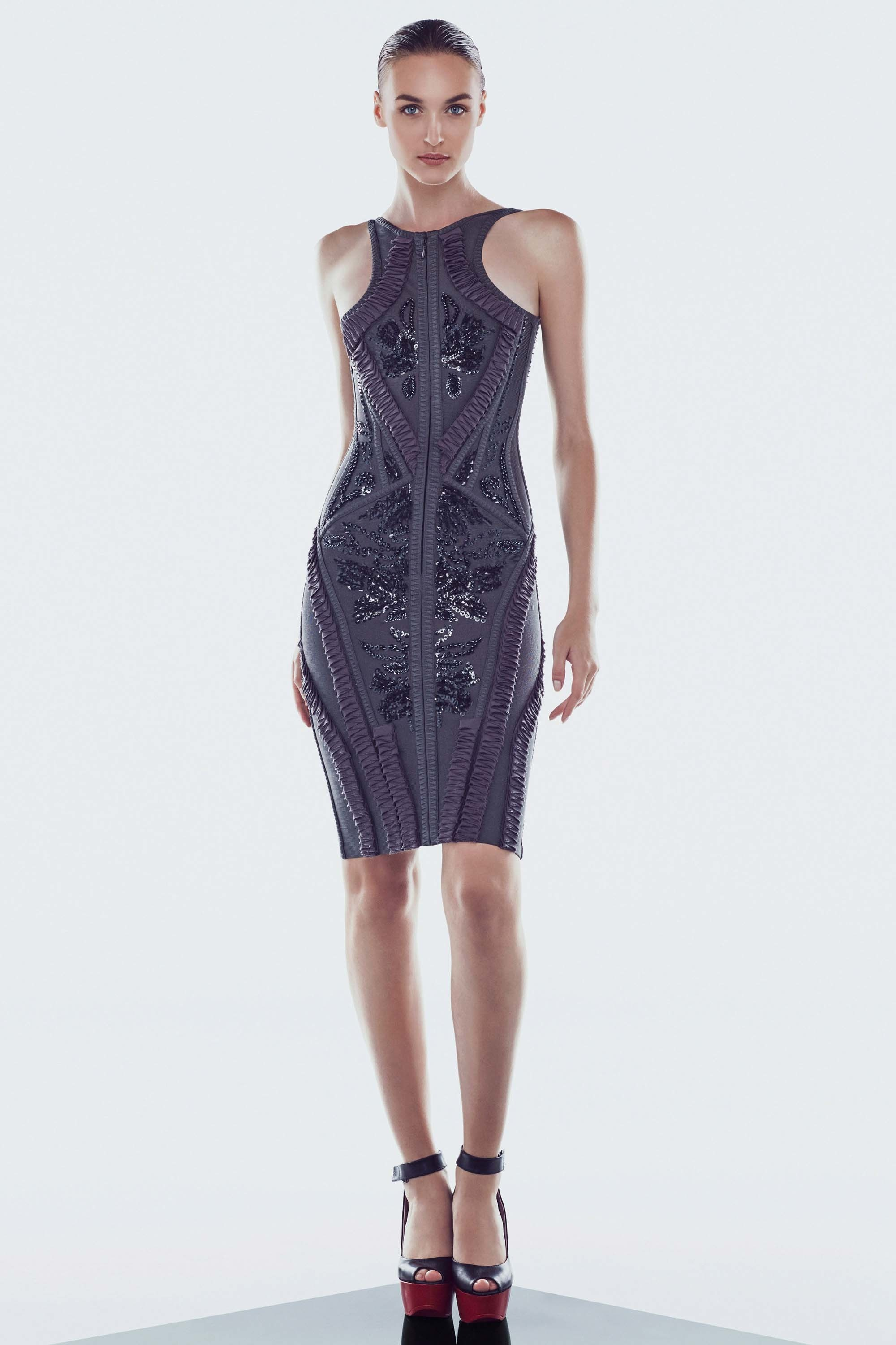 Herve Leger Resort 2017 collection season dresses clothing swimsuit