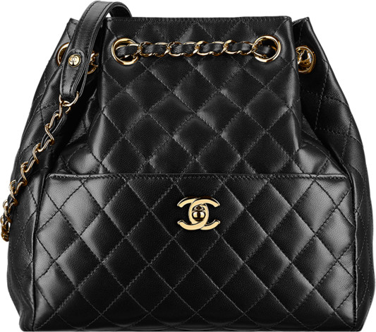 04a31d92a6c7 Chanel Fall Winter 2016 2017 Pre-collection season bags bag handbag purse.  8. Black lambskin drawstring ...