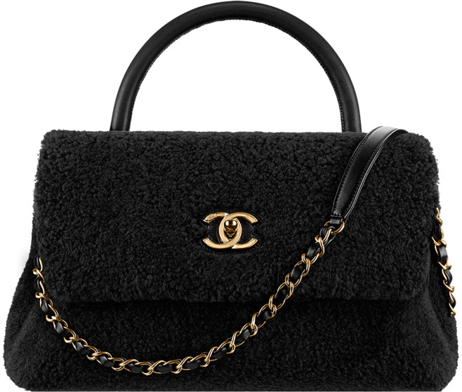 2bf82e0841ade4 Chanel Fall Winter 2016 2017 Pre-collection season bags bag handbag purse.  25. Shearling sheepskin ...