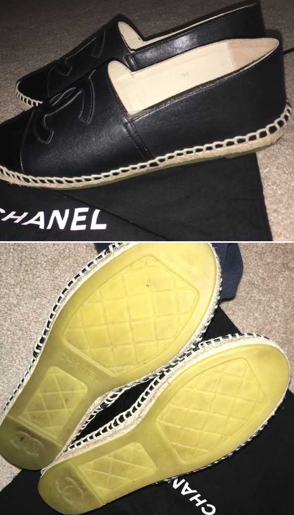 Chanel Baby Shoes Replica