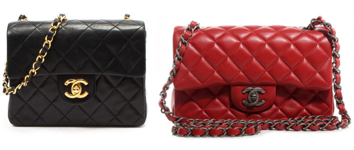 differences between chanel square mini and rectangular