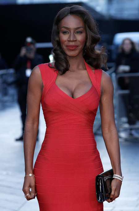 celebs celebrities wearing herve leger dresses