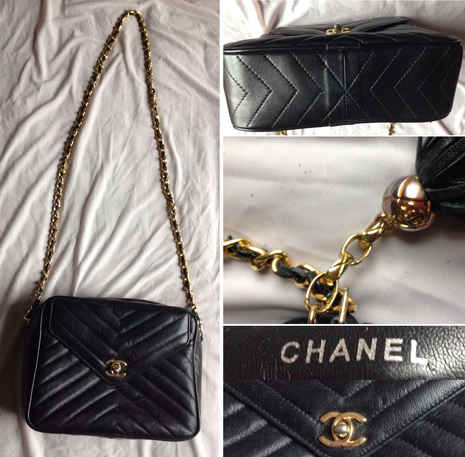 f61276aa9 Vintage Chanel Handbag Authentication | Lollipuff